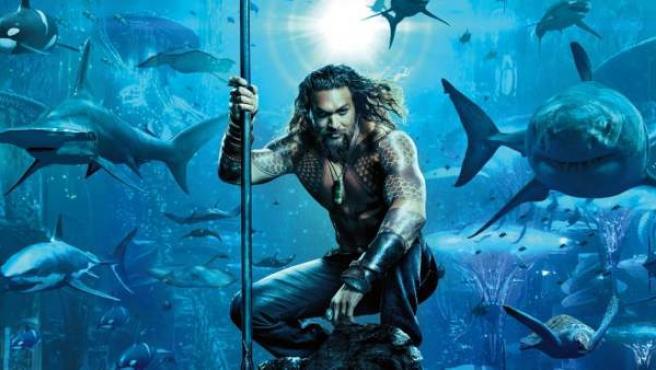 Jason Momoa se ha convertido en el superhéroe de 'Aquaman'