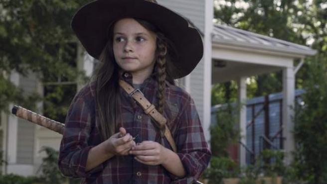 Judith Grimes en 'The Walking Dead'.
