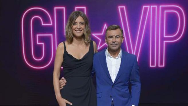 Sandra Barneda y Jorge Javier Vázquez, en la presentación de 'Gran Hermano VIP 6'