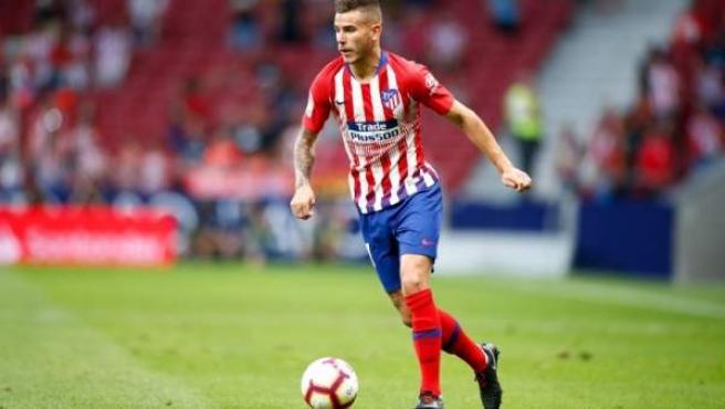 Lucas Hernández, jugador del Atlético de Madrid.