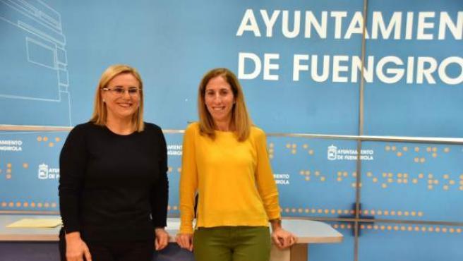 Mula y Díaz presentan el nuevo programa Empleanet