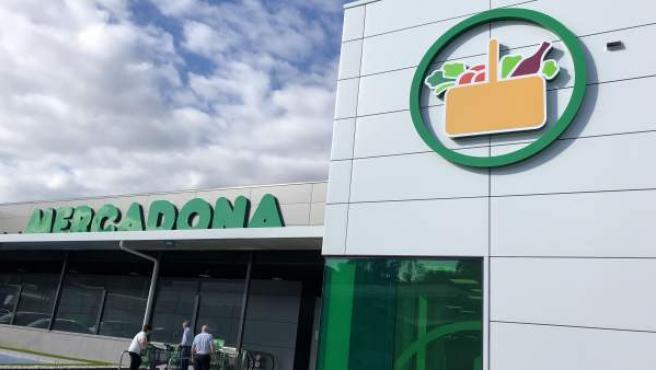Imagen de un supermercado de Mercadona.