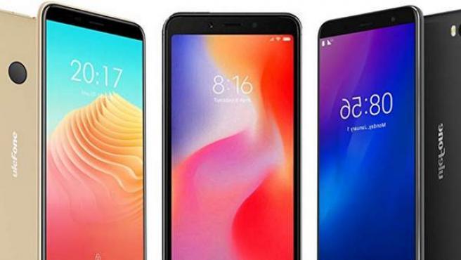 Los mejores móviles por 100 euros o menos del mercado.