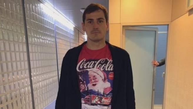 El atuendo de Iker Casillas por el que le vaciló Óliver Torres.