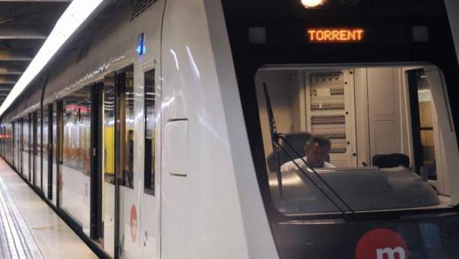 Vagón de Metrovalencia