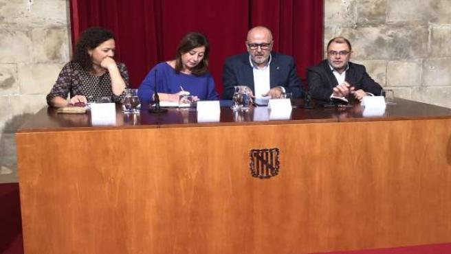 Acuerdo financiero entre Govern y Consell de Mallorca