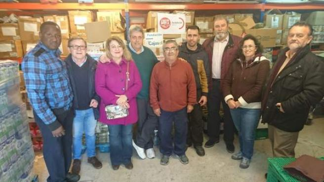 UGT Sevilla entrega cinco toneladas de alimentos