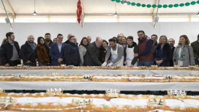 Roscón de Reyes solidario de la Diputación a beneficio de Andex
