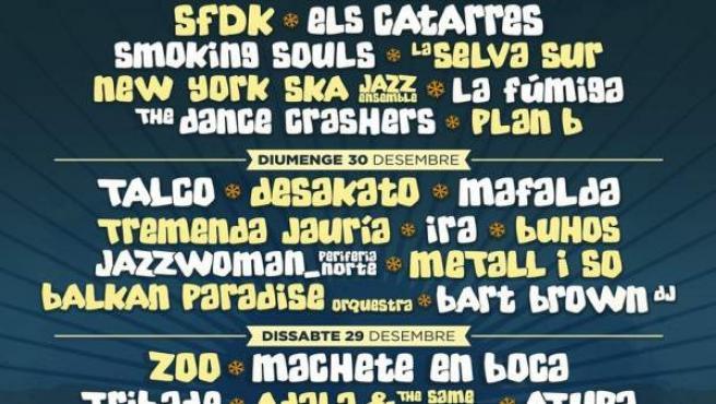 Cartel del Festivern 2018-2019