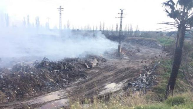 Incendio de Sollana el 29 de diciembre