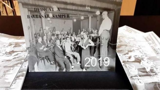 Calendario 2019 de la OCB dedicado a Baltasar Samper