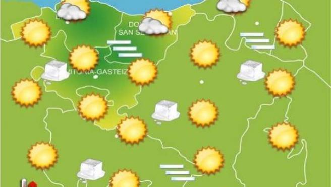 Previsiones meteorológicas para el 30 de diciembre