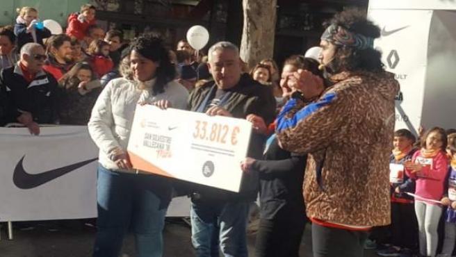 La San Silvestre recauda 33.812 euros para la cura de la leucemia infantil