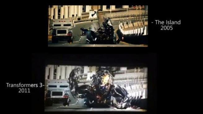 Michael Bay se autoplagia en 'Transformers 3'