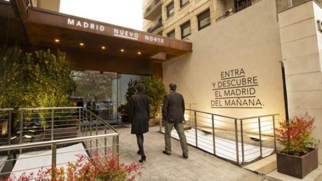 El espacio expositivo de Madrid Nuevo Norte desarrolla una experiencia interactiva para dar a conocer los detalles del proyecto.