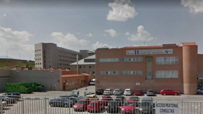 El Complejo Asistencial de Segovia, en una imagen de archivo.