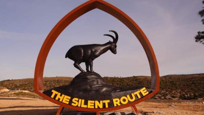 Logotipo de la Silent Route de la Sierra de Arcos.