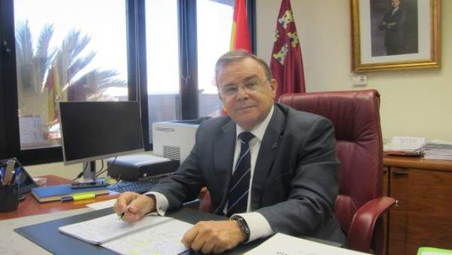El consejero de Fomento e Infraestructuras, Patricio Valverde