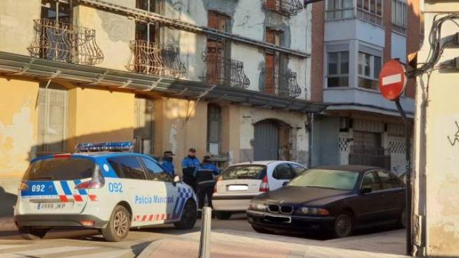 La Policía intercepta al conductor en la calle Estación