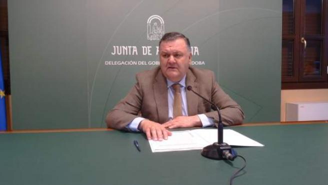 Francisco Zurera en una rueda de prensa