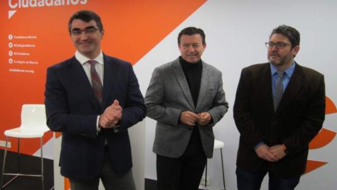 Grupo Parlamentario Cs: López Morell, José Molina,Miguel Sánchez
