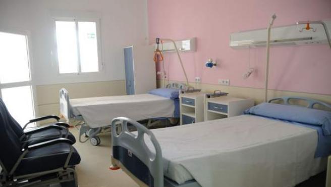 habitación de maternidad de hospital