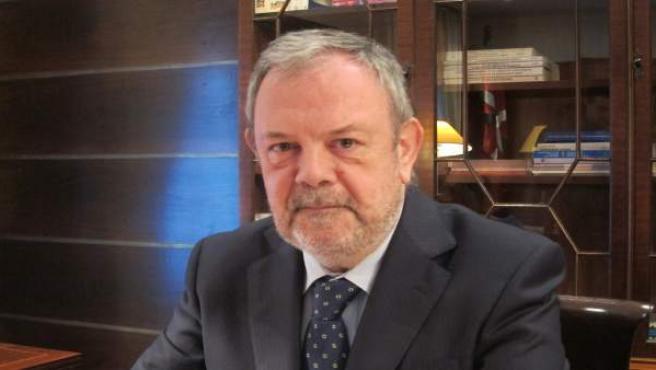 Pedro Azpiazu, consejero de Economía y Hacienda del Gobierno vasco