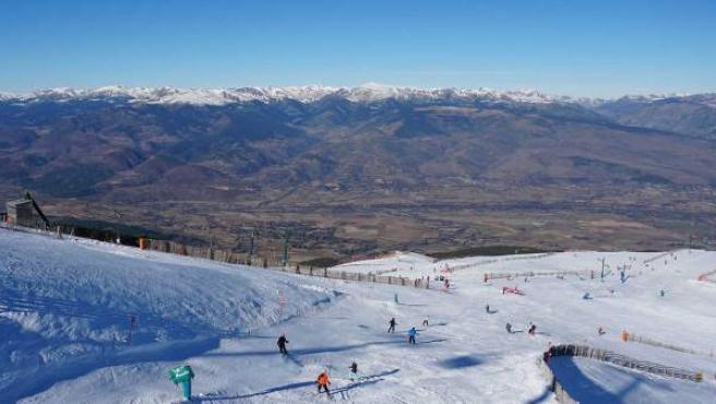 La estación de esquí La Masella (Girona)