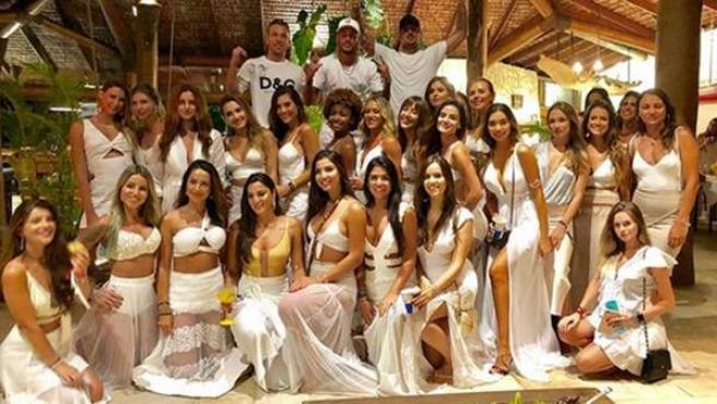 Neymar, en la gran fiesta de fin de Año en Bahía