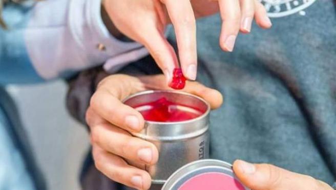 Imagen de una de las variedades de los ositos de gominola con alcohol.