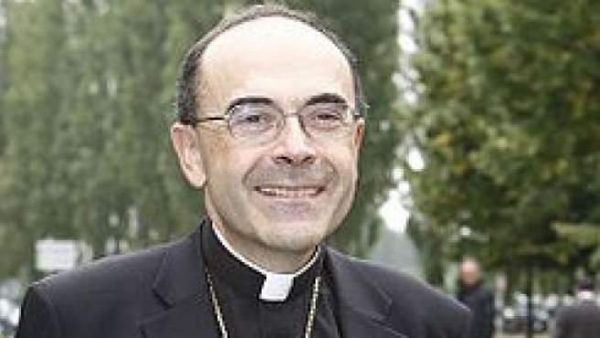 El arzobispo de Lyon, el cardenal Philippe Barbarin.