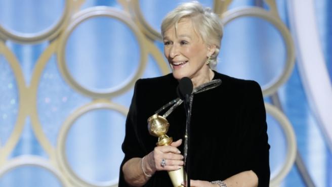 Uno de los premios más reñidos, el de mejor actriz de drama, fue a parar a Glenn Close por La buena esposa.