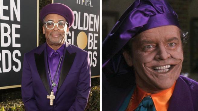 Globos de Oro 2019: ¿Spike Lee o el Joker de Jack Nicholson? Internet se ceba con el cineasta