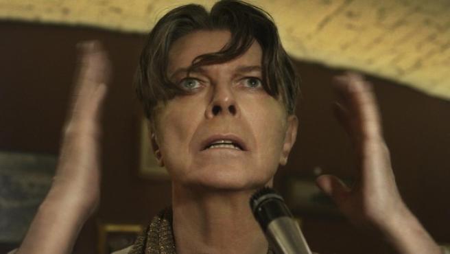 El cantante David Bowie durante el videoclip de 'The Next Day'.