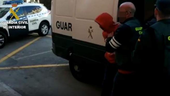 Uno de los detenidos en Callosa d'en Sarrià tras la agresión sexual a una joven de 19 años en Nochevieja.