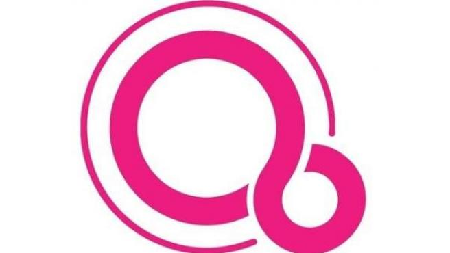 Logo de Fuchsia, el sistema operativo en el que Google está trabajando.