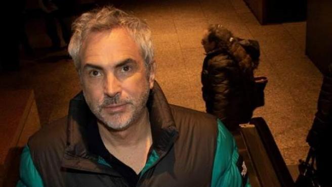 El director mexicano Alfonso Cuarón asiste a la apertura de una retrospectiva de sus películas en la Film Society del Lincoln Center de Nueva York (EE UU).