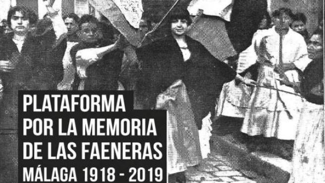 Cartel de la conferencia sobre las faeneras de Málaga
