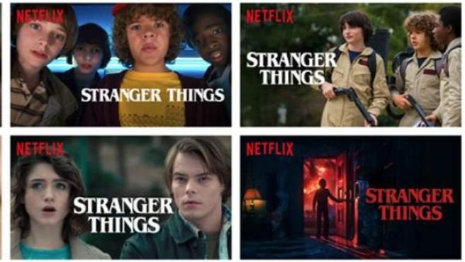 Netflix muestra diferentes imágenes de una serie o película según los gustos del usuario.