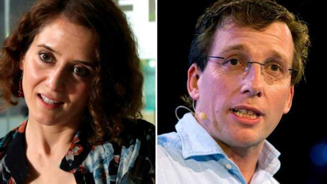 Isabel Díaz Ayuso y José Luis Martínez Almeida.