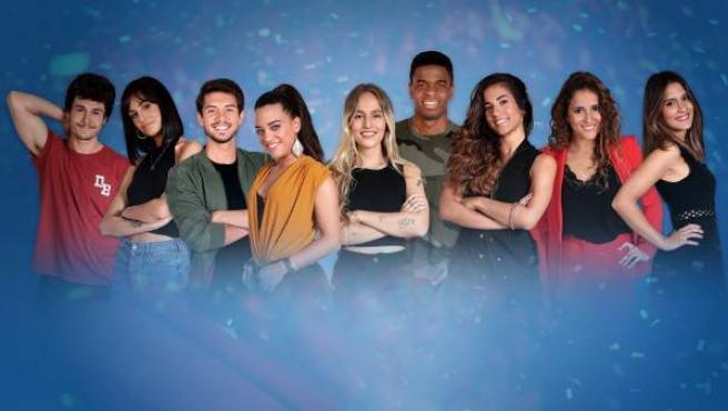 Imagen de los concursantes de 'OT 2018' que competirán en la gala de Eurovisión para representar a España.