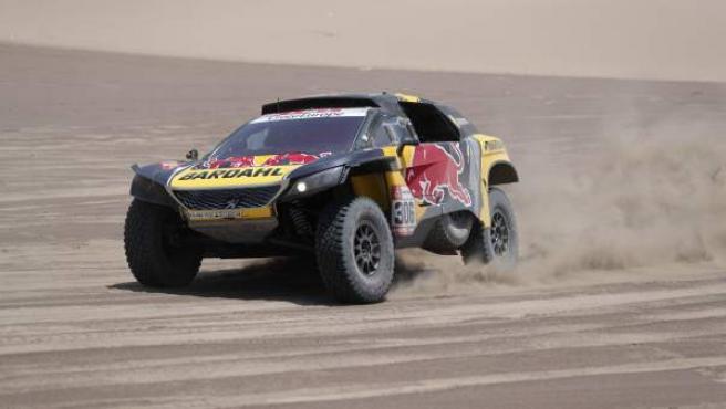 Sebastien Loeb, durante el Dakar 2019.