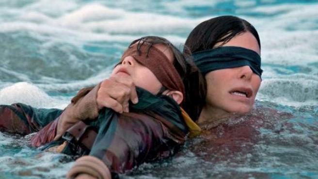 Sandra Bullock protagoniza la película de Netflix 'Bird Box', basada en un mundo postapocalíptico.