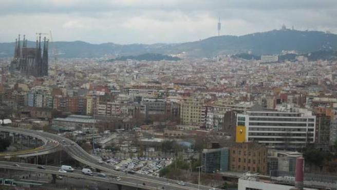 Una vista de Barcelona.