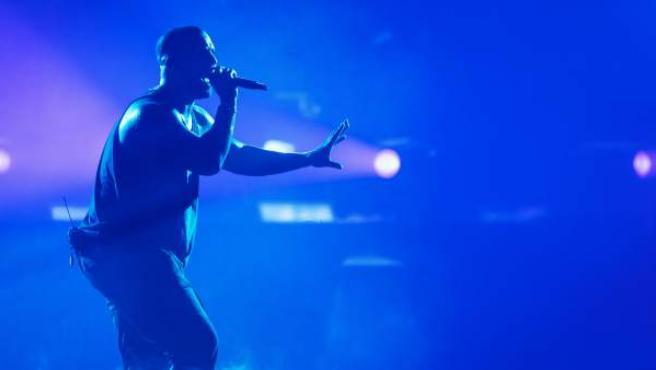 Drake, en un concierto en Alemania en 2017.