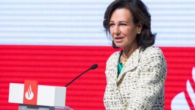 Ana Botín, presidenta de Banco Santander.c