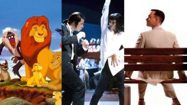 'El rey león', 'Pulp Fiction' y 'Forrest Gump', tres de los éxitos de 1994