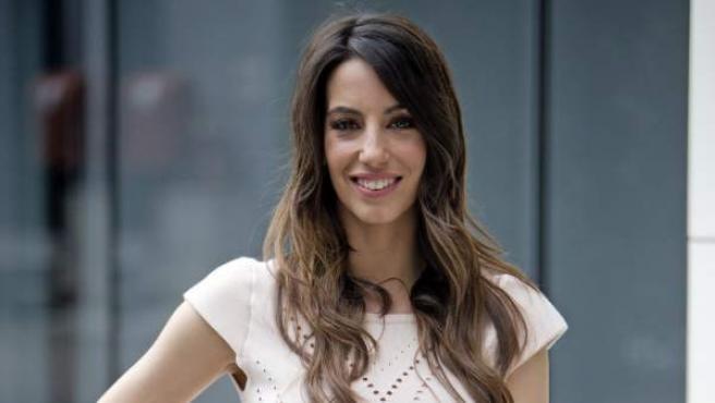 Almudena Cid durante la presentación de programa 'De mayor quiero ser...'