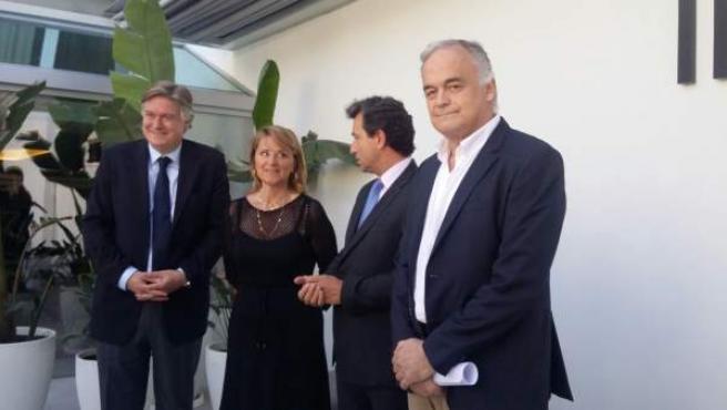 González Pons, Rosa Estaràs, Biel Company y López-Istúriz.