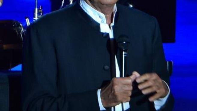 Julio Iglesias en una de sus últimas apariciones públicas.